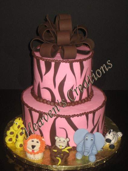 Safari Theme Cake ~ Can be created to match your theme